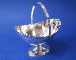 George III Silver Sugar/Sweetmeat basket Made by George Smith & Thomas Hayter London 1799 Price £1,295.00